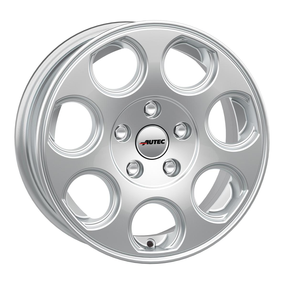 AUTEC Yuna hliníkové disky 6x14 4x100 ET30 Brilliant Silver